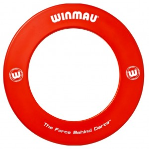 Winmau Surround ring bedrukt rood