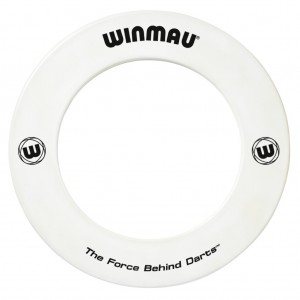 Winmau Surround Ring Bedrukt Wit