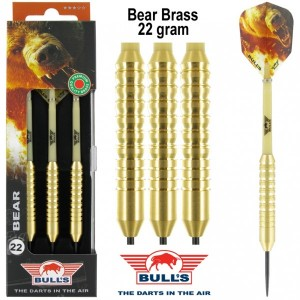 Bull's Bear Brass Dartpijlen 22 Gram