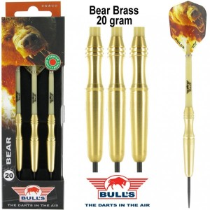 Bull's Bear Brass Dartpijlen 20 Gram