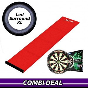 Basic XL Led Surround Advanced Pakket Rood