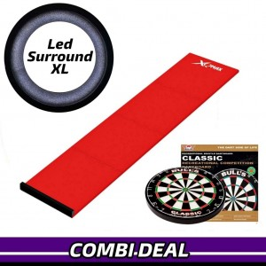 Basic XL Led Surround Starters Pakket Rood