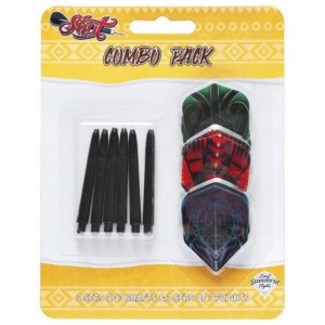 Shot Flights Shafts Combi Pack