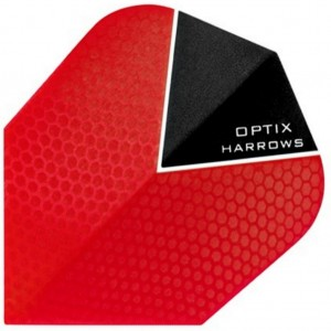 Harrows Optix Flights Rood