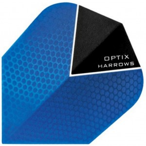 Harrows Optix Flights Blauw