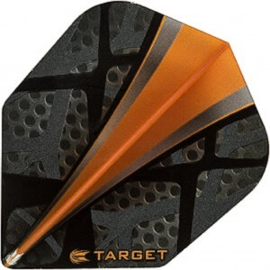 Center Sail Orange Target Flight