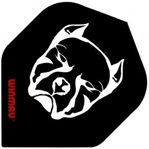 Mega Std. Black Bull Dart Flights
