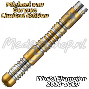 Michael van Gerwen Limited Edition Dartpijlen 2018-2019 Gold 21-23-25 Gram