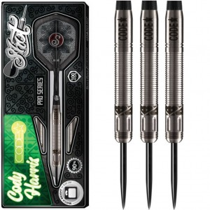 Shot Pro Series Cody Harris 90% Dartpijlen 21-23 Gram