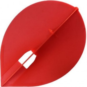 L Style Champagne Dart Flights Pear Red