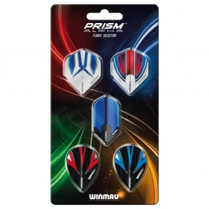 Winmau Prism Alpha Flight Selector Kit