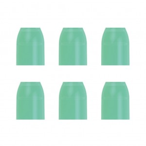 L Style Champagne Rings Caps Green (6 Stuks) - 1024x1024