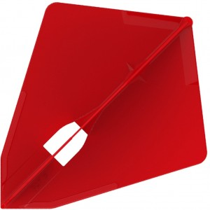 L Style Champagne Dart Flights Astra Red