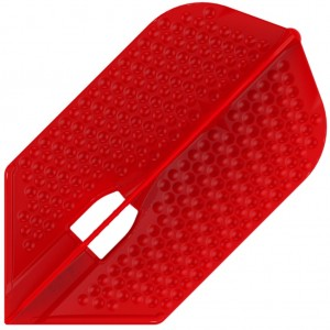 L Style Champagne Dart Flights Slim Dimple Red