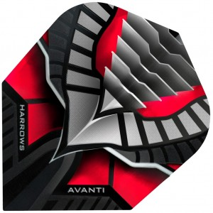 Harrows Avanti Flights Rood