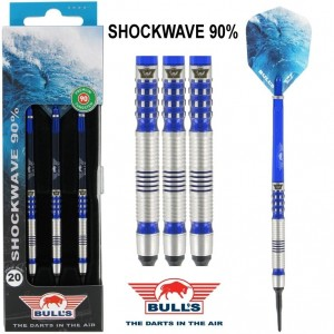 Bull's Shockwave 90% Softtip Darts 20 Gram