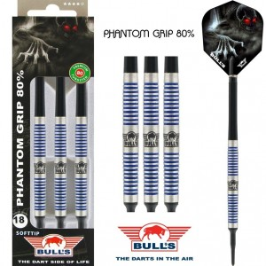 Bull's Phantom 80% Softtip Darts 18 Gram