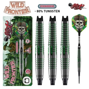 Shot Wild Frontier Trapper 80% Softtip Darts 18-20-22 Gram