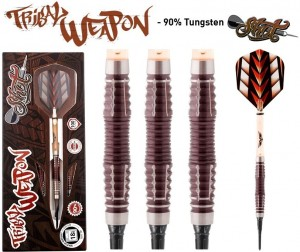 Shot Tribal Weapon 3 CW 90% Softtip Darts 18-20 Gram
