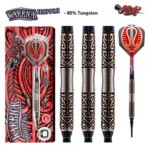 Shot Warrior Hautoa 80% Softtip Darts 18-20 Gram