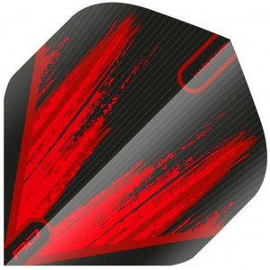 Red Dragon Hardcore Radical Paint Flights Black Red