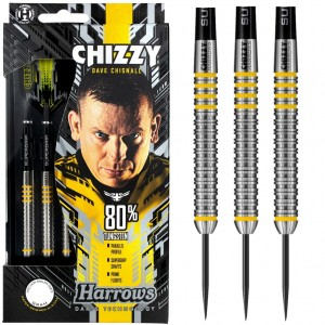 Harrows Dave Chisnall 80% Dartpijlen 21-22-23-24-25-26 Gram