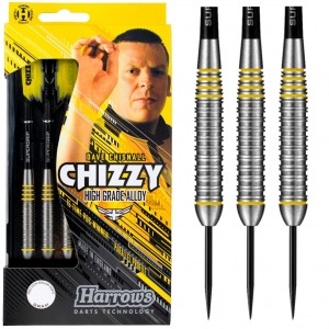 Harrows Dave Chisnall Brass Dartpijlen 21-22-23-24 Gram
