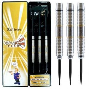 Grandslam Shark Machine Goldline 90% Dartpijlen 22-28 Gram