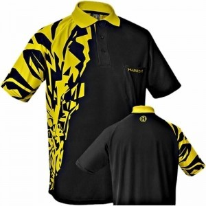 Harrows Rapide Geel Dartshirt