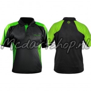 Harrows Vivid Dartshirt Groen