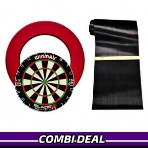 Winmau Blade 5 + Surround Ring + Rubbermat