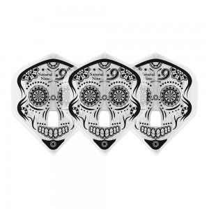 L-style Natural9 Flight Calavera Clear White
