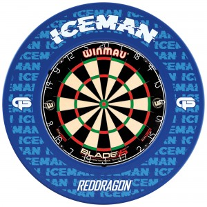 GERWYN PRICE ICEMAN DARTBOARD SURROUND