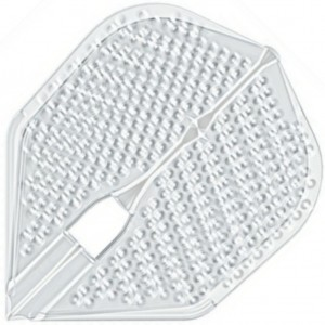 L Style Champagne Dart Flights Shape Dimple Clear B