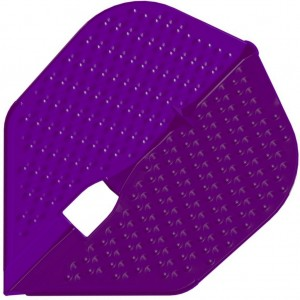 L Style Champagne Dart Flights Shape Dimple Purple