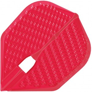 L Style Champagne Dart Flights Shape Dimple Red
